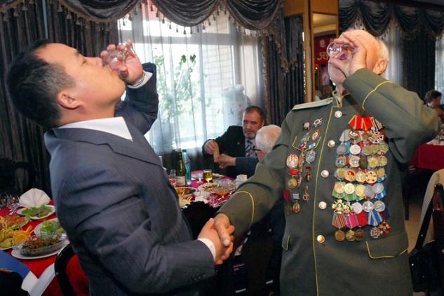 APTOPIX Russia Victory Day Anniversary