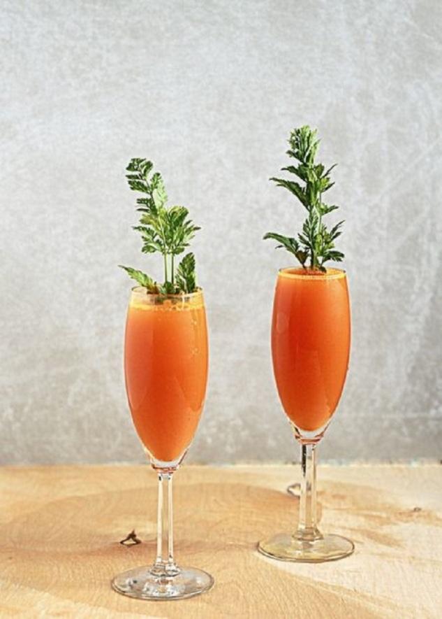 Carrot-Mimosas
